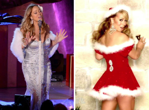 Is Mariah Carey Santa's sexiest elf?