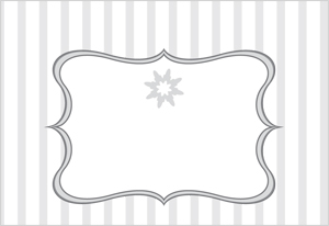 Download the printable Place cards