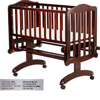 Recalled Dream On Me Lullaby Cradle Glider