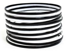 Black and White Bangles