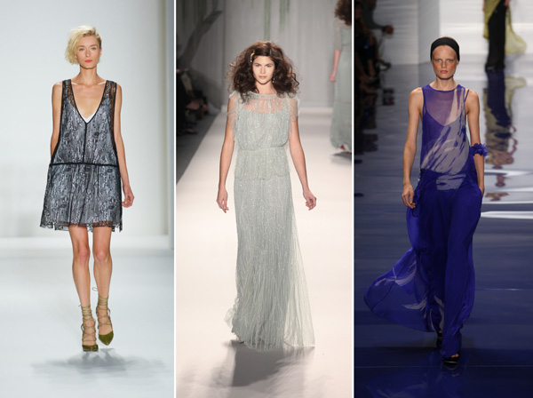 Marissa Webb, Jenny Packman and Vera Wang sheer runway trends
