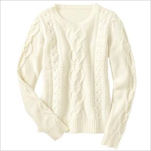 Cable Knit Pullover (Gap, $27)