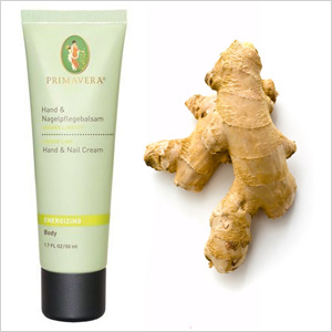 Primavera Energizing Ginger Lime Hand and Nail Cream