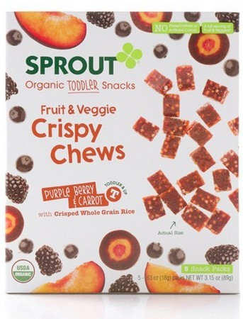 Sprout Foods Organic Toddler Snacks