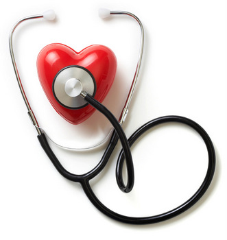 Stethoscope and heart disease