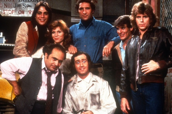 Andy Kaufman and Taxi cast