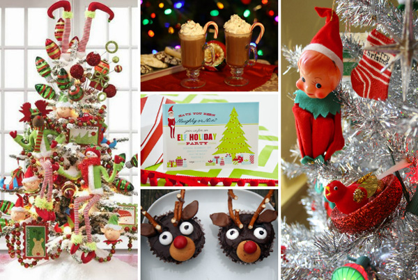 Santa's helpers Christmas theme
