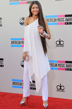 Celebs wow in white!