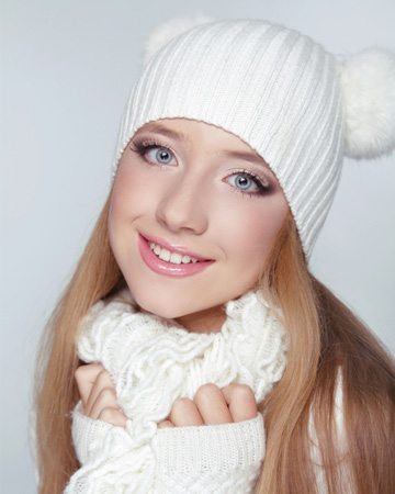 Winter makeup mistakes