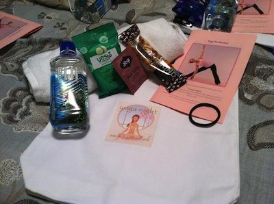 Yogi gift bags