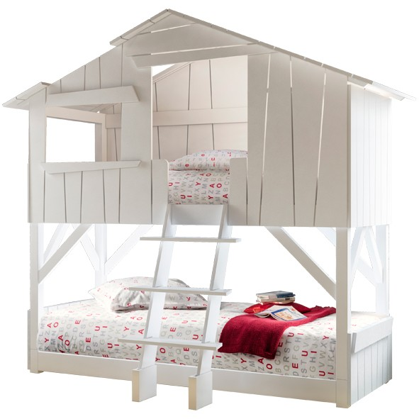 Hut bunk bed