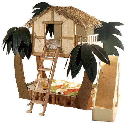 Surf shack bunk bed