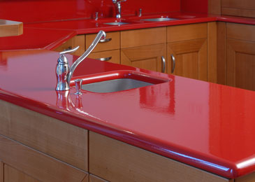 Shake up your kitchen countertop