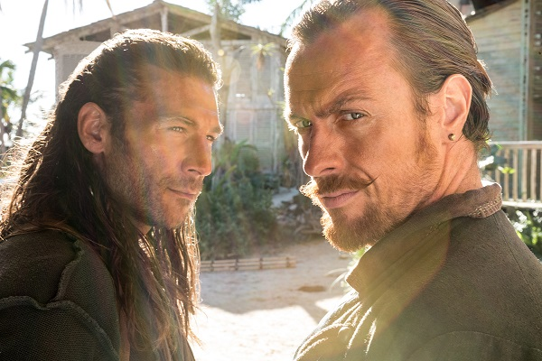 Black Sails Captains Flint and Vane