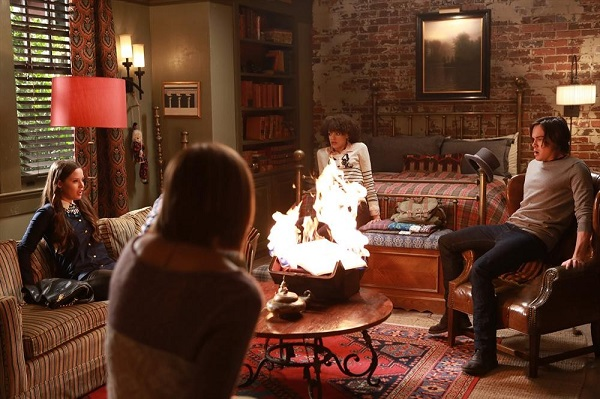Ravenswood Revival Caleb drops the book