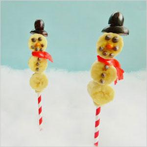 Fruit snowman | Sheknows.com