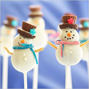Snowman cake pops | Sheknows.com
