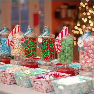 Create a candy station for the gingerbread house | Sheknows.com