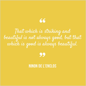 Ninon de L'Enclos quote | Sheknows.com