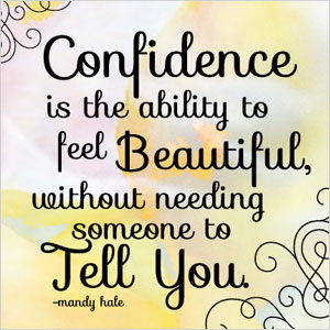 Confidence Mandy Hale quote | Sheknows.com