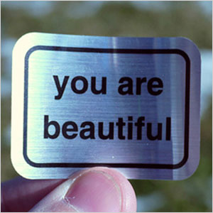 You Are Beautiful sticker | Sheknows.com