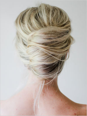 Messy french twist | Sheknows.com