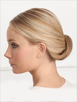 Simple chignon | Sheknows.com