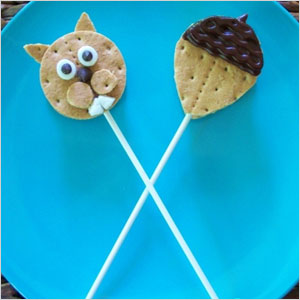 Squirrel s'more pop snack | Sheknows.com