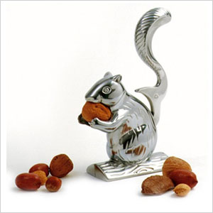 Bowl of nuts and squirrel nut cracker snack | Sheknows.com