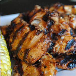 Grilled peanut butter chicken | Sheknows.com