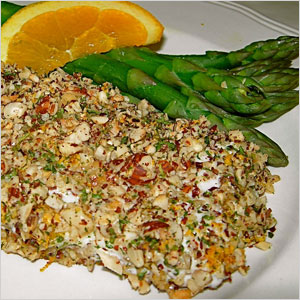Hazelnut crusted halibut | Sheknows.com