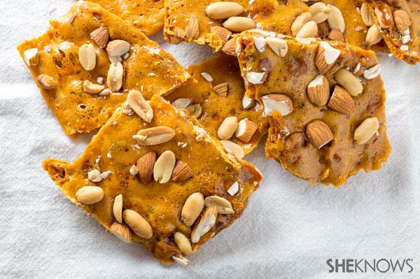 Peanut and almond brittle | SheKnows.com