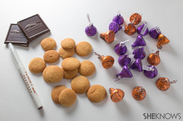 Chocolate and pumpkin spice acorns | SheKnows.com - supplies
