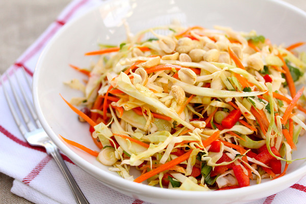 Chef Masa's Pomegranate Cabbage Slaw Recipes — Dishmaps