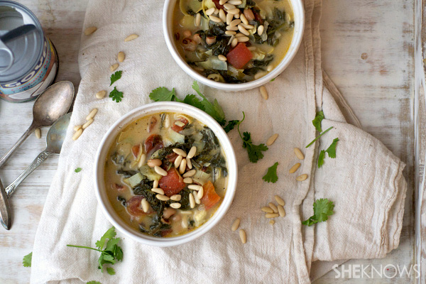 Sweeter soups for winter noshing
