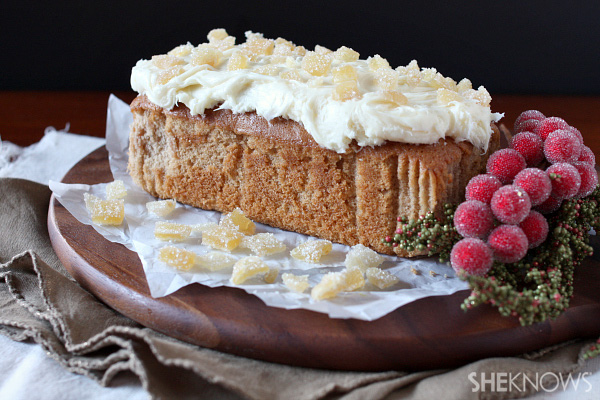 Spicy gingerbread loafcake