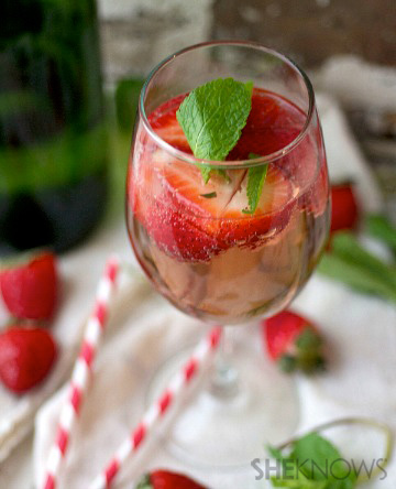 4 Recipes with a bubbly twist