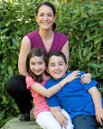 Jane Schwartzberg and kids
