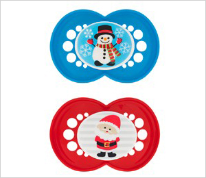 MAM holiday pacifiers