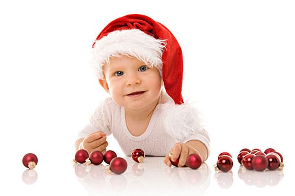 Taking baby to see Santa