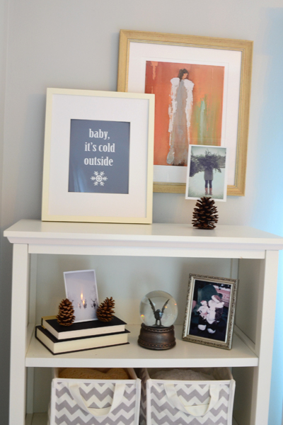 Winter decorating ideas for baby | Melissa Dunlap