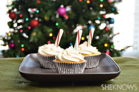 North Pole cupcake recipe
