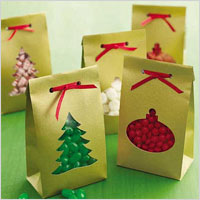 treat bag ornaments