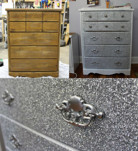 The shiniest dresser in town