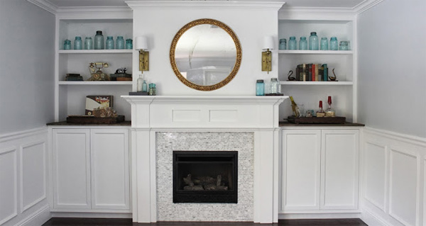 Style your own chic fireplace