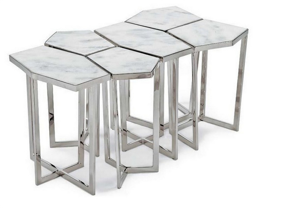 Puzzle table set