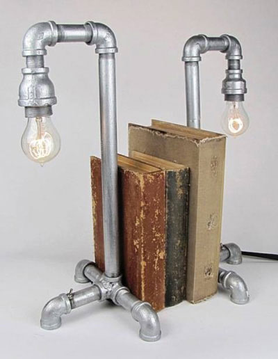 Bookend lamps