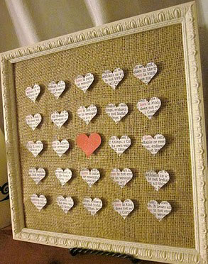 3-D heart art