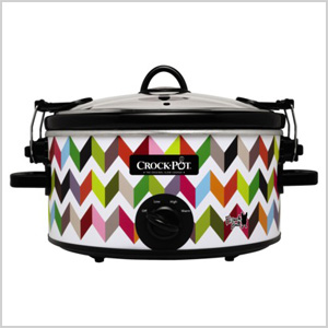 Chevron slow cooker
