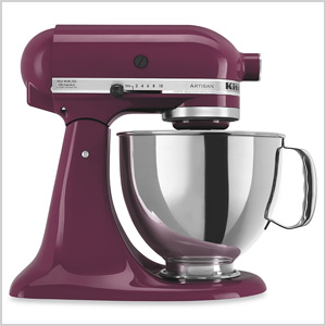 Purple stand mixer